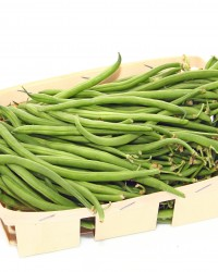 Barquette de haricots verts frais