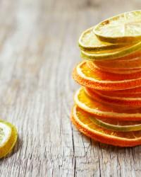 citron séché noel